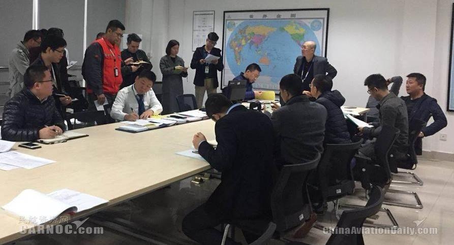 北部湾航空成功开展2018年首次突击式应急演练