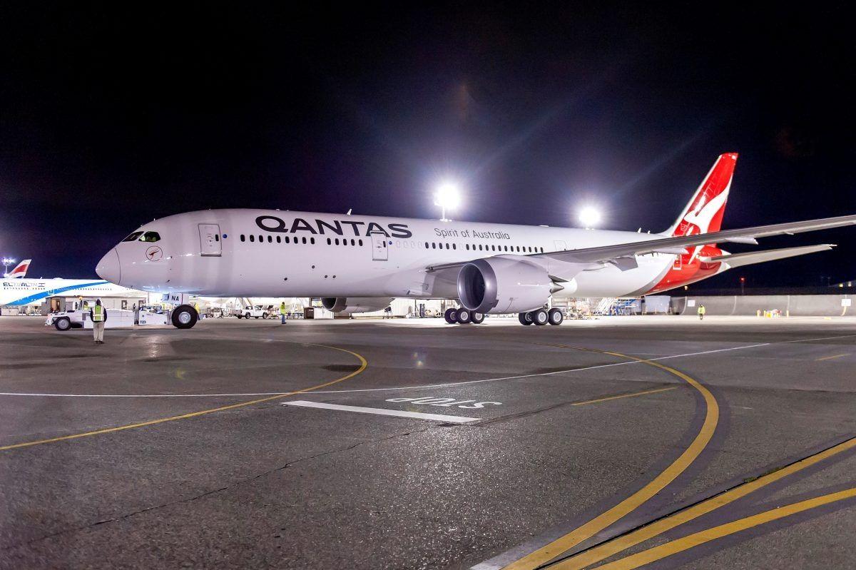 澳航生物燃油航班实现洲际飞行