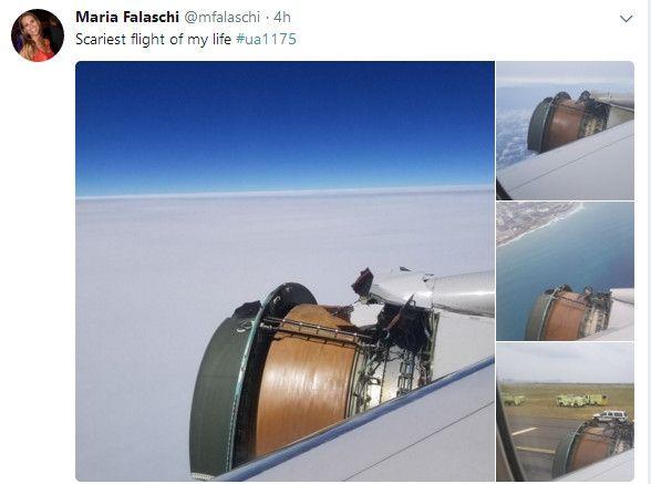乘客推特上发帖