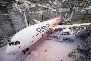 澳航推出特别飞机涂装 致敬澳洲原住民