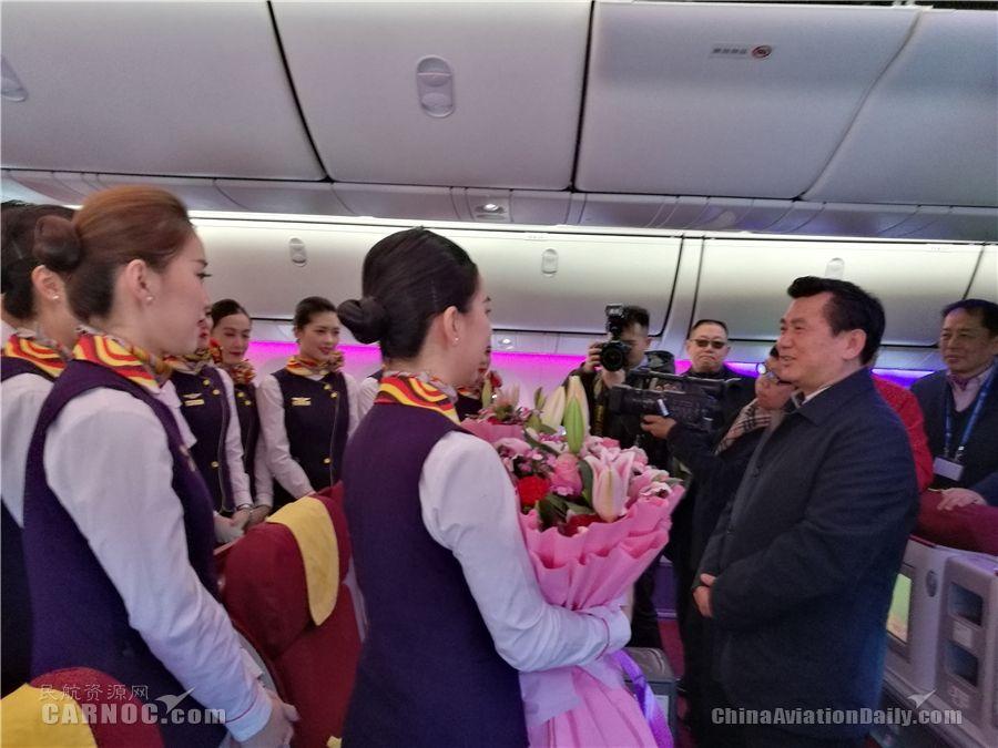 新春佳节:民航局局长为啥给这家航司点赞?