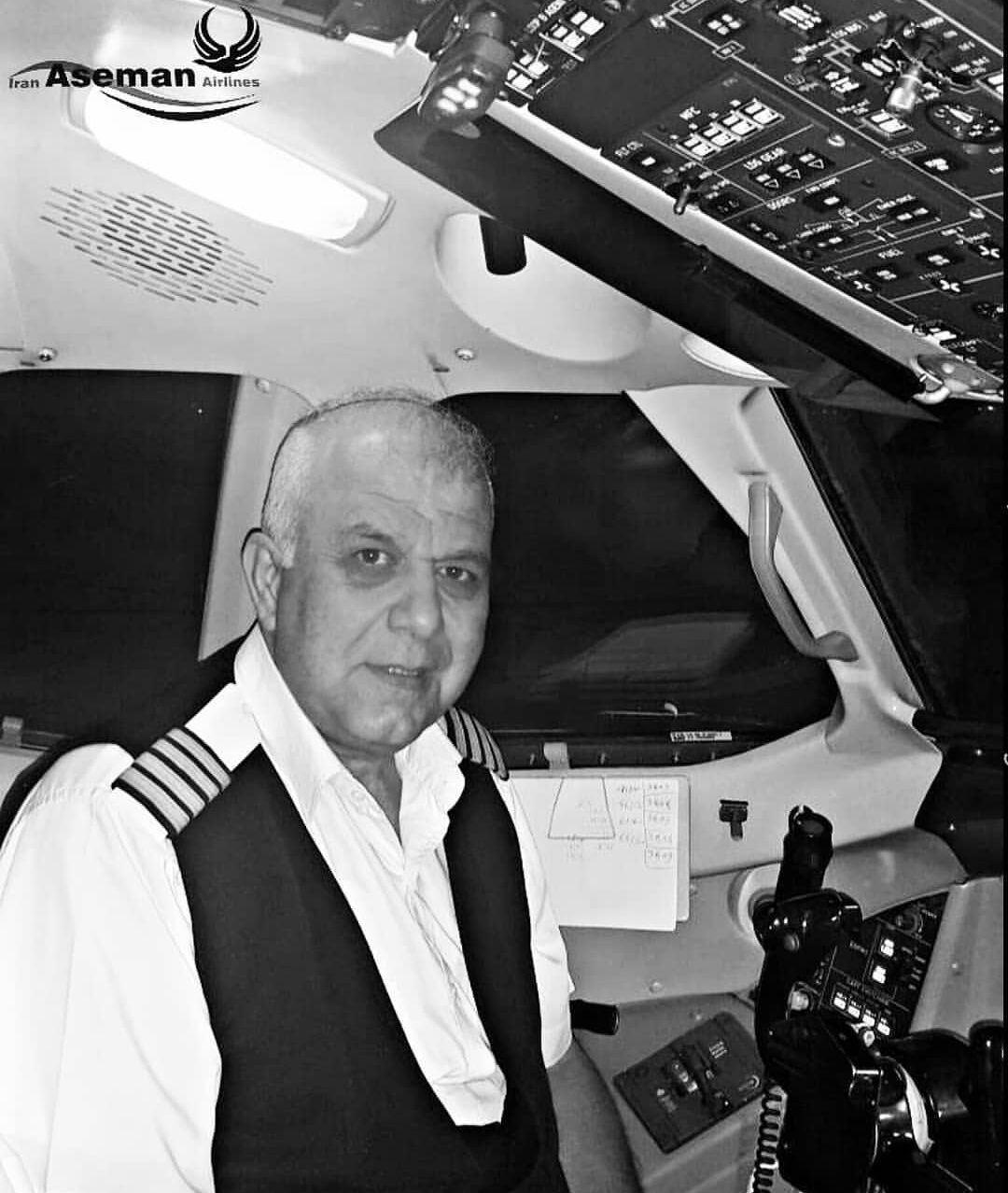 asemam航空官方Instagram帐号发布的失事客机机长照片