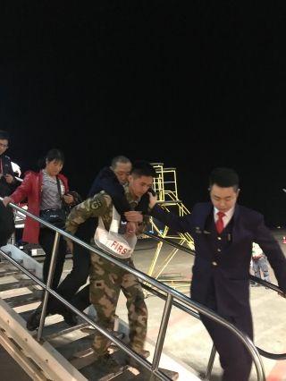落地旅客突发疾病 美兰机场全力救护转危为安