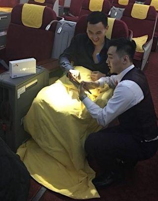 海南航空新春献礼 机上可做心脏检测