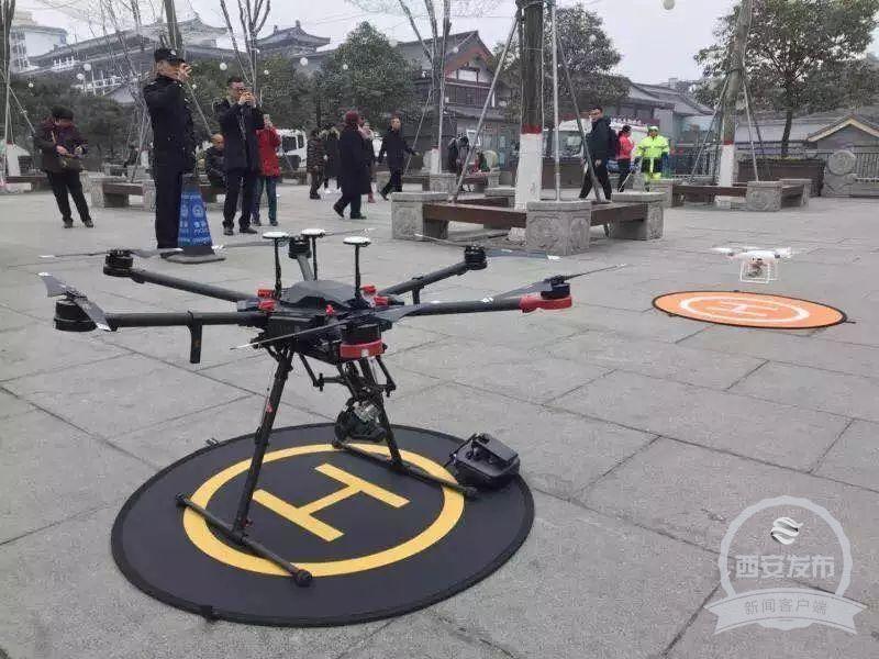 西安将举办百架无人机灯光秀表演