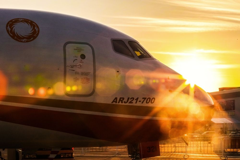 ARJ21客机