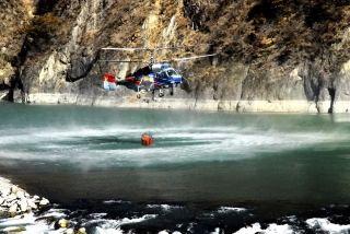 春节川滇两省直升机联动 只为保护那一抹绿
