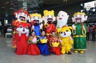 上海浦东、虹桥机场有序应对返程客流高峰