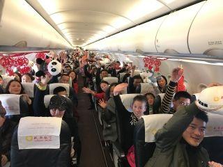 春节期间 成都航空机上特色活动营造浓浓年味