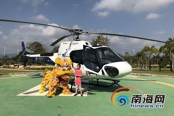 春节假期低空旅游市场火热 通用航空普及大众