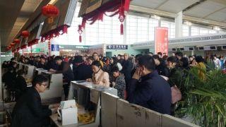 南昌机场迎春运返程高峰 单日吞吐量连破5万人次
