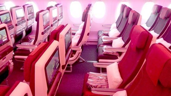 卡航将推新经济舱座椅 对超音速飞行感兴趣