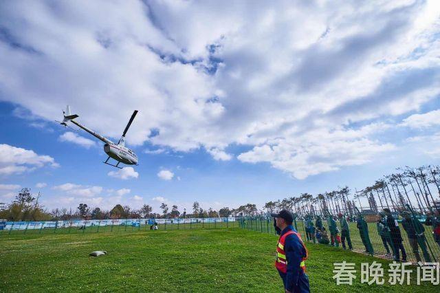 10分钟800元!春节好多人体验直升机游昆明
