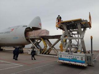 天津机场货运公司圆满完成春节期间客货包机保障
