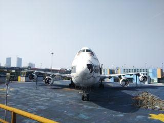 位于浦东飞行家主题公园MSN19661已无往日荣光