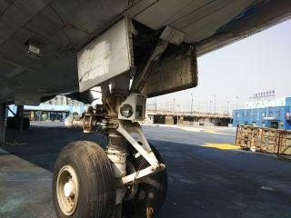 上海市区内唯一一架747即将搬离原址