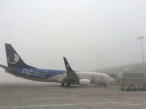 抗击大雾 山航连续多日借助HUD实现安全起飞