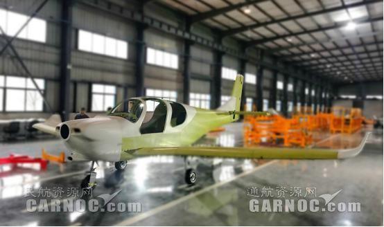 冠一通飞GA20主体结构完成 上半年将完成首飞