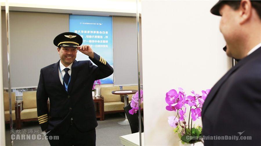 巴西机长Marcelo Samico:我是厦航新机长