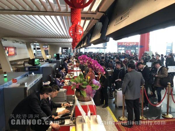 两天一夜 厦航杭州圆满保障六架备降航班