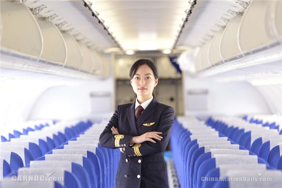 安徽民航迎来首位女飞行员