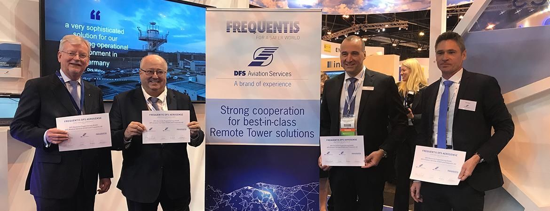 两强联营 DFS与Frequentis共同提供远程塔台方案
