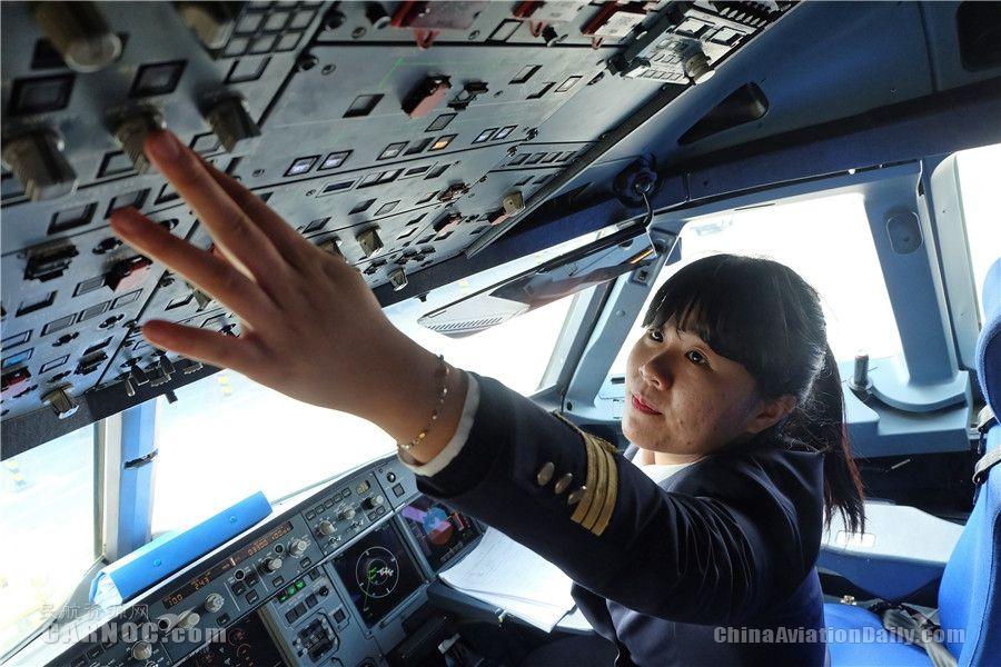 宁波迎来首批民航女飞行员