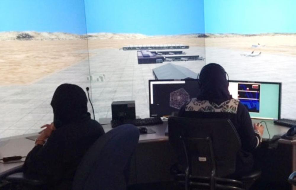 12名女性有望成为沙特首批女性管制员
