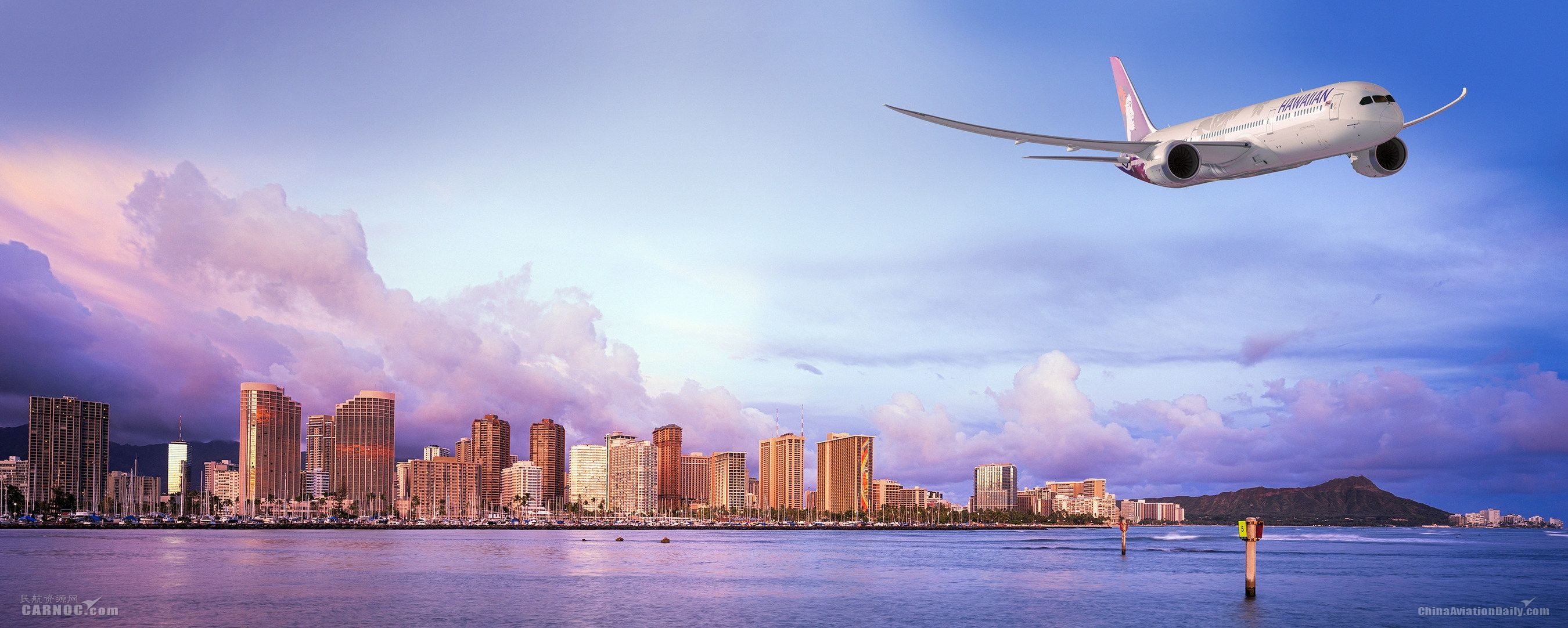 夏威夷航空宣布购买10架787梦想飞机