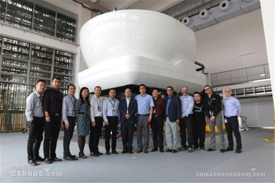 东海航空成功引进飞行模拟机