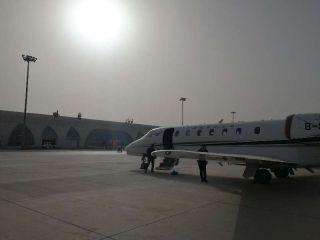 哈密机场完成仪表着陆系统飞行校验工作