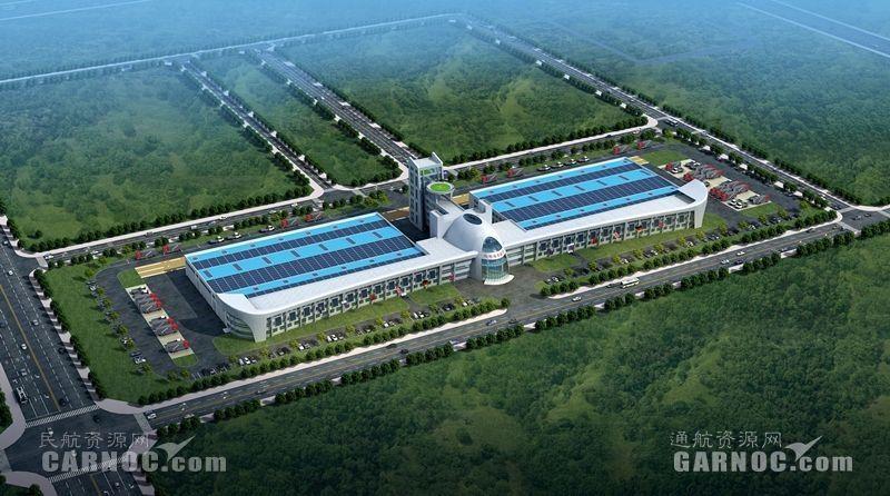 宁夏回族自治区领导调研西部通航飞机制造项目