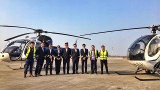 赞!上海和利通航2018新春首飞圆满完成