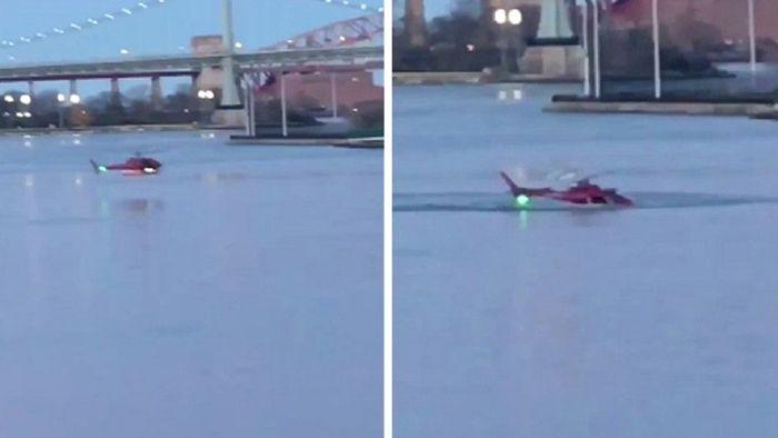 纽约直升机坠河续:疑因乘客背包碰燃油切断阀