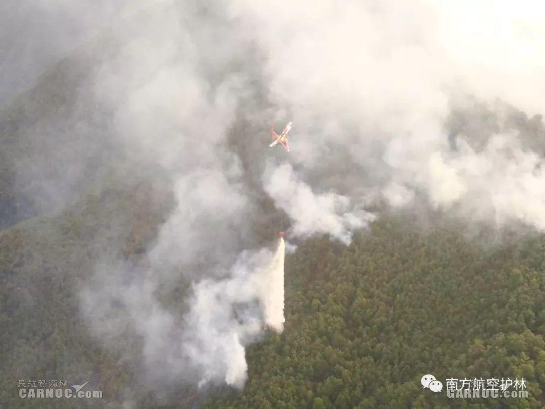 米-26和卡曼直升机首次合成编队扑救大理火灾