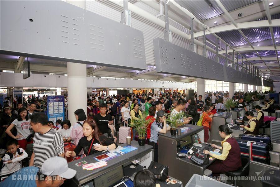 三亚机场2018年春运旅客吞吐量达274.6万人次