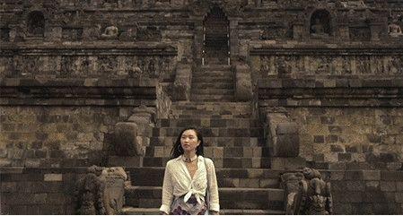 在婆罗浮屠感受1300年的印度教遗迹
