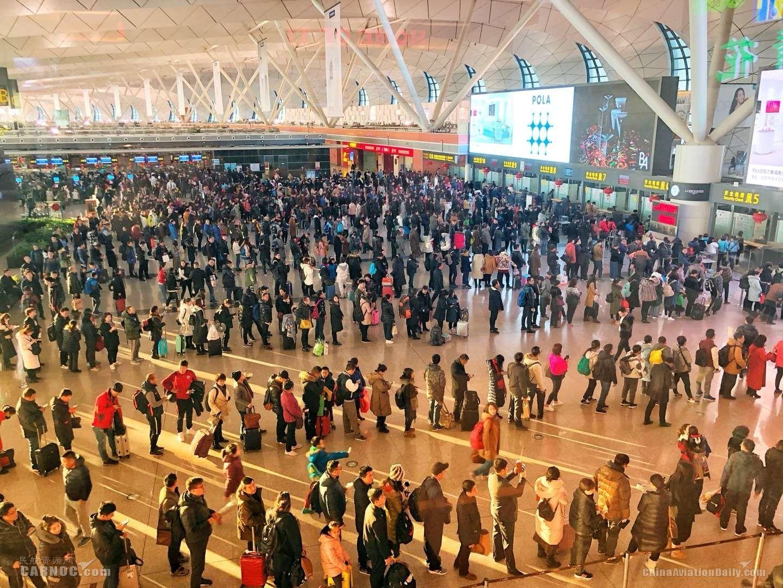 沈阳桃仙机场2018年春运运输旅客218.7万人次