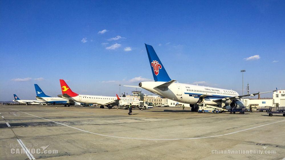 2019年牡丹江机场旅客吞吐量近105万人次
