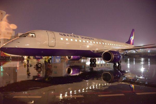 乌鲁木齐航空首架E190抵达 机队规模增至13架