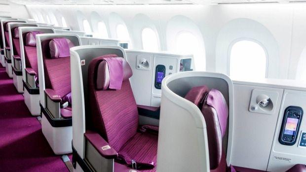泰航:肥胖及带小孩乘客禁坐梦想飞机商务舱