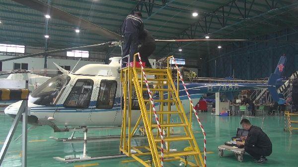 南航通航首次完成贝尔407直升机60M定检