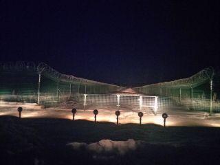 阿尔山机场徒步检查助航灯具