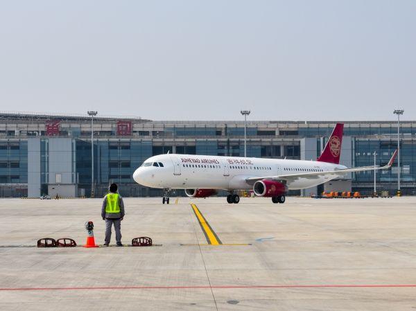 吉祥航空迎来全新A321飞机 机队规模增至68架