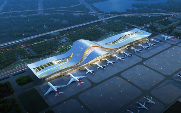 三峡机场二期改扩建开工 打造现代化国际航空港