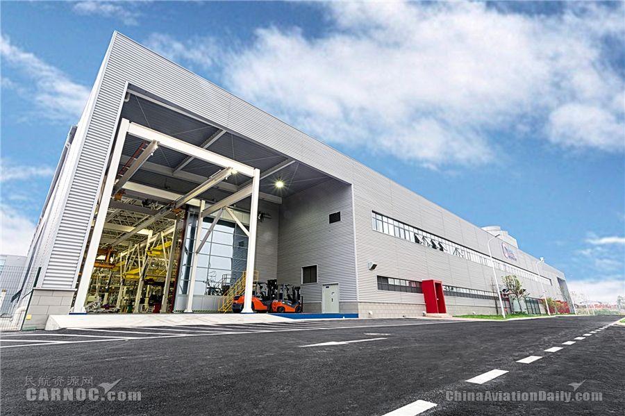 四川国际发动机维修公司保税区新厂房正式运营