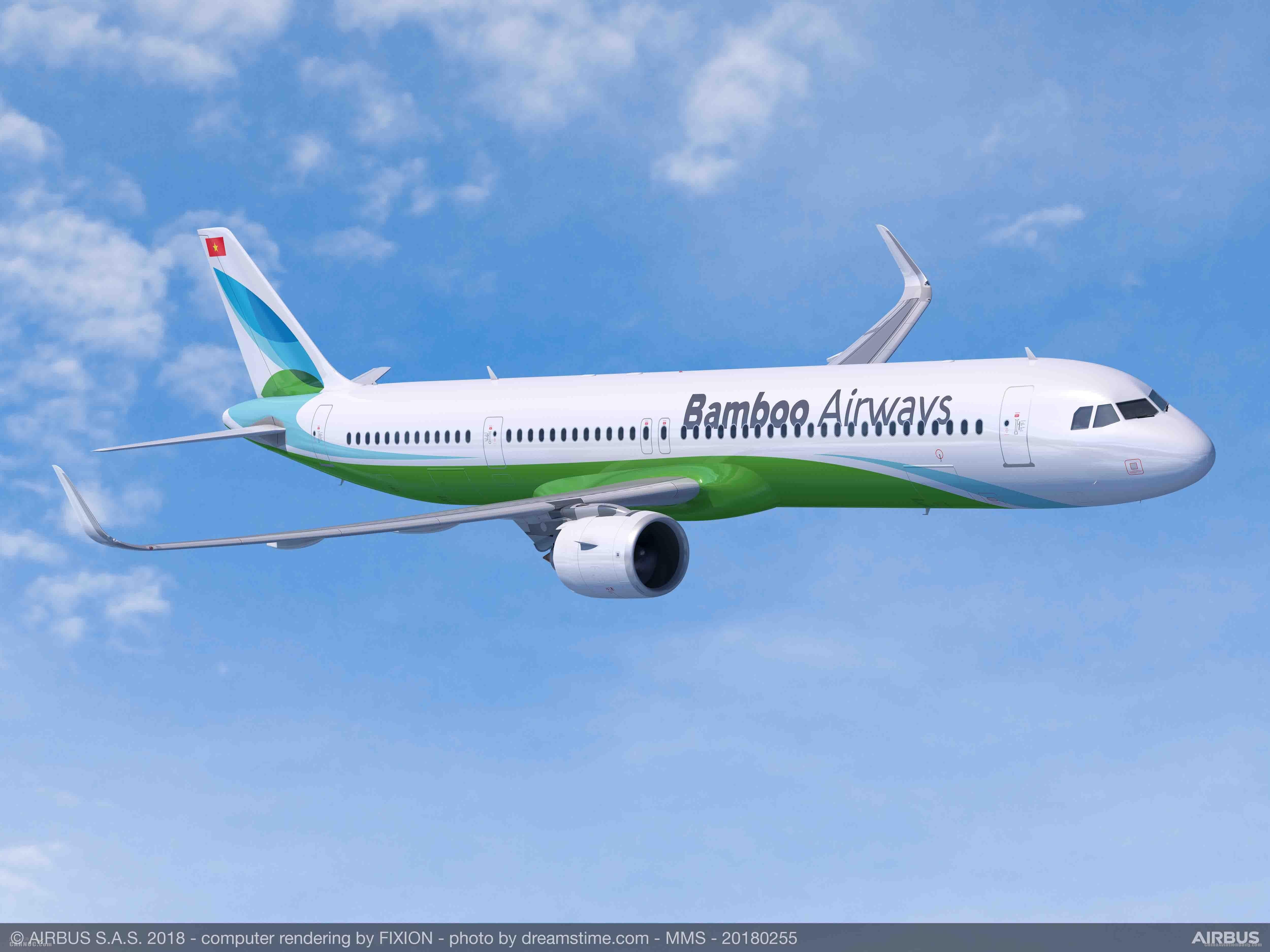 FLC集团为旗下越竹航空订购24架空客A321neo