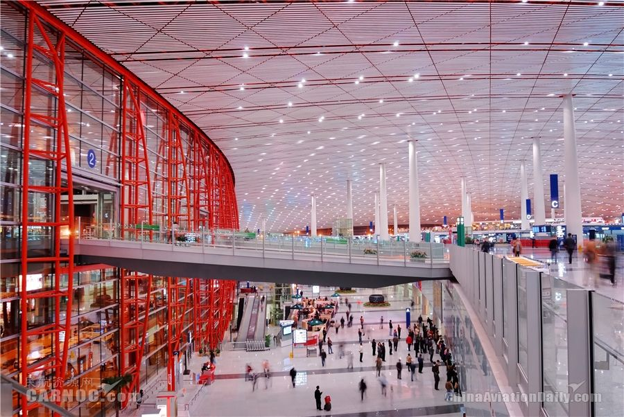 SITA自助服务技术助力首都机场提升运力