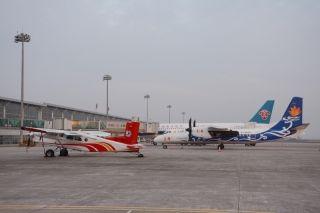 南航首度在黄山机场投放过夜运力