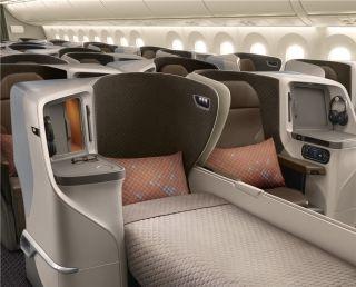 新加坡航空推出全新区域性客舱产品
